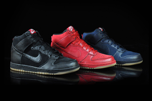 Nike Dunk High Be True To Your Street Leather Pack
