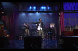 Lupe Fiasco The Show Goes On Letterman