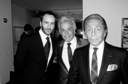 Tom Ford, Giancarlo Valentino Sothebys Dinner