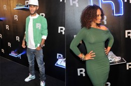 Swizz Beatz Alicia Keys Reebok Classics Red Carpet