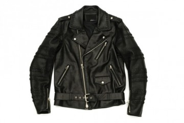3.1 Phillip Lim Hand Braided Sleeve Motorcycle Jacket