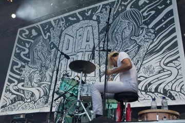 Death From Above 1979 at Osheaga 2011 - photo by Pat Beaudry