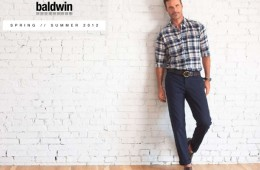Baldwin Mens Spring Summer 2012