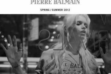 Pierre Balmain Spring 2012 Featuring Abbey Lee Kershaw