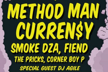 Win Tickets to The Smokers Club Tour With Method Man & Curren$y in Toronto