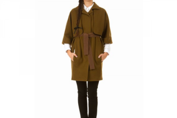 Carven Moss Green Trench
