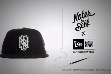Notes to Self x New Era Collaborative Fitted