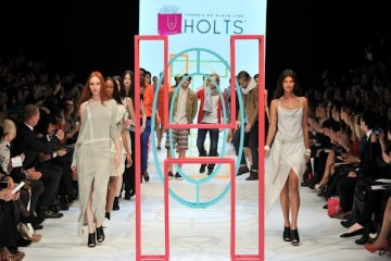 There's No Place Like Holts Spring 2012 at LG Fashion Week in Toronto
