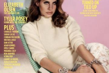 Lana del Ray for Wonderland Fall Winter 2011