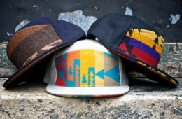 Ronnie Fieg Quintin Pendleton 6 Panel Snapbacks