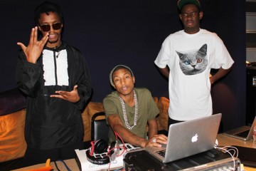 Pharrell Williams Tyler the Creator Lupe Fiasco Studio Time