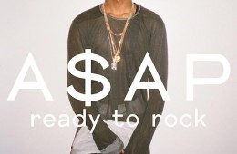 A$AP Rocky DAZED CONFUSED February 2012 Cover