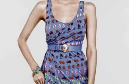 Abbey Lee Kershaw for Versace for H&M Cruise 2012