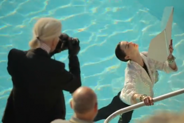 Making of Chanel's Spring-Summer 2012 Ready-to-Wear Campaign