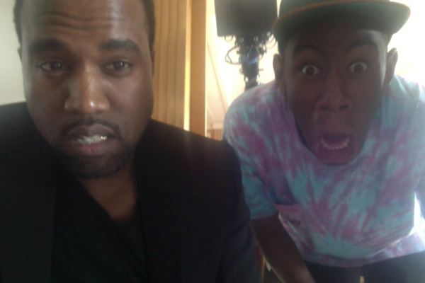 Kanye West, Frank Ocean, & Tyler, the Creator in the ...