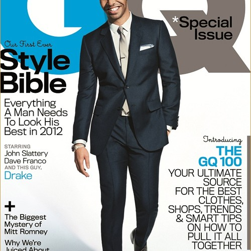 Drake for GQ Style Bible