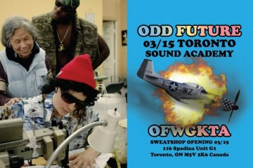 Odd Future OFWGKTA Sweatshop Pop-Up Shop Toronto