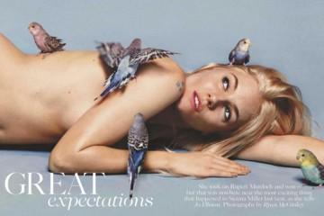 Sienna Miller for British Vogue April 2012 Issue