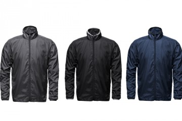 Aether Ultralight Jackets Blue Grey Black