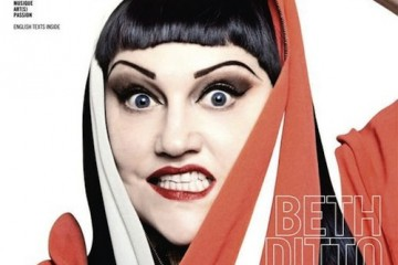 Beth Ditto for Dedicate Spring Summer 2012