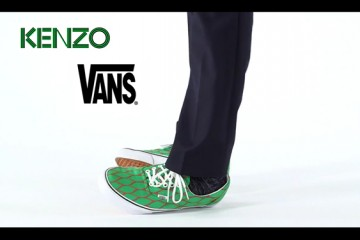 Kanzo x Vans Shoes Collabo