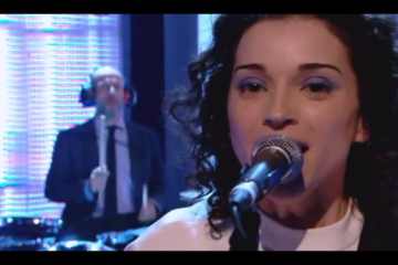 St Vincent performs on Later With Jools Holland