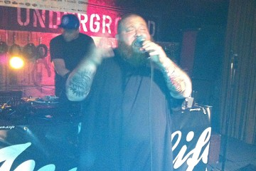 Action Bronson at the Drake Underground