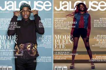 Azealia Banks and A$AP Rocky for Jalouse June 2012