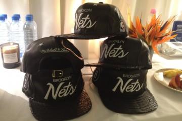 Brooklyn Nets x Mitchell Ness Hats by Don C