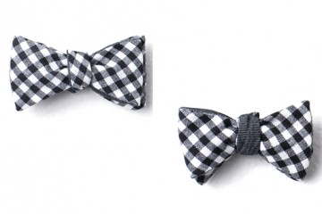 Cotton Treats Reversible Gingham Bow Ties