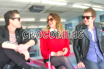 Crocodiles on Dirty Laundry TV