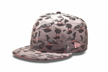 Custom New Era 59FIFTY Pigeon Rat Camo Fitted Hat