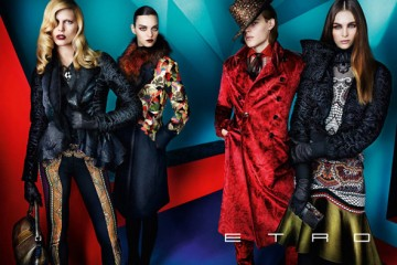 Etro Fall Winter 2012 Ad Campaign