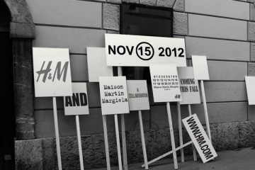 HM x Maison Martin Margiela for Fall Winter 2012