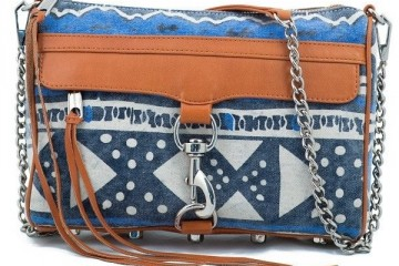 Rebecca Minkoff Tribal Denim Morning After Clutch