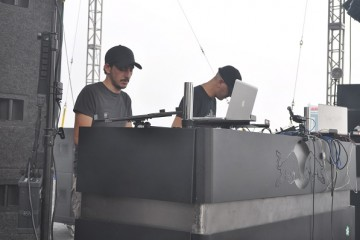 Tiger And Woods at Movement 2012