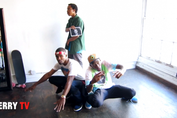 Odd Future Freestyle at Terry Richardson Studio