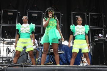 Santigold Osheaga 2012 (photo Pat Beaudry)