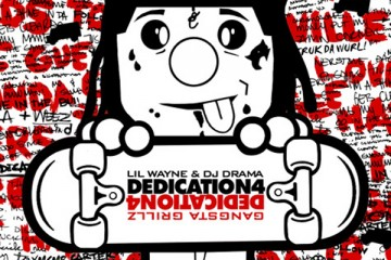 Lil Wayne Dedication 4 Mixtape Album Cover