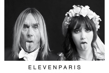 ELEVENPARIS Fall Winter 2012 Campaign Iggy Pop Daisy Lowe Thumbnail