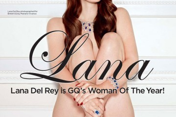 Lana Del Rey GQ Britain 15th Annual Men of the Year Issue