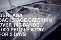 Osheaga 2012 Backstage Catering with Chuck Hughes