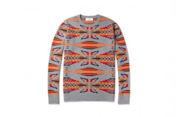 YMC Navajo-Inspired Lambswool Sweater