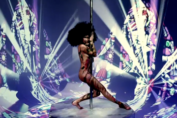Chanel Rising Supermodel Chanel Iman Hops Off the Runway and Onto the Strippers Pole