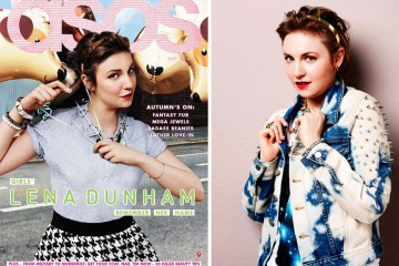 Lena Dunham for ASOS Magazine November 2012