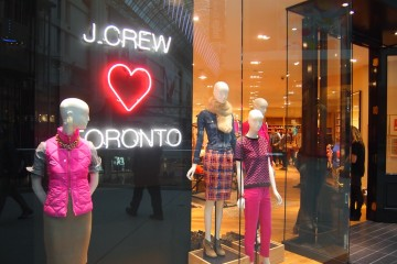 J. Crew & J. Crew Mens Preview at Toronto Eaton Centre
