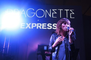 Toronto Fashion Week Dragonette performs at EXPRESS after party