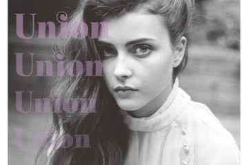 Isabelle Johnson for Union No.2 Fall Winter 2012