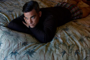 Robbie Williams for Interview Magazine Germany October 2012 Issue