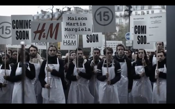 Maison Martin Margiela with HM The Silent Manifesto Video